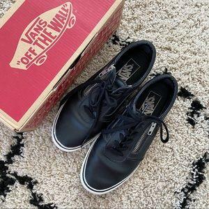 Vans Milton Zip leather sneakers